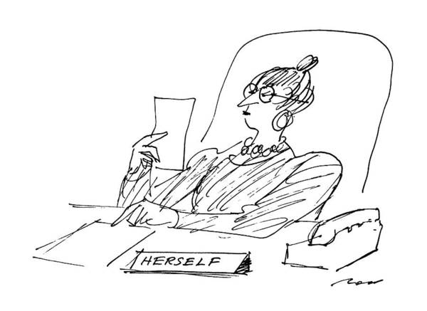 Writing Desk Drawing - New Yorker December 8th, 1986 by Al Ross