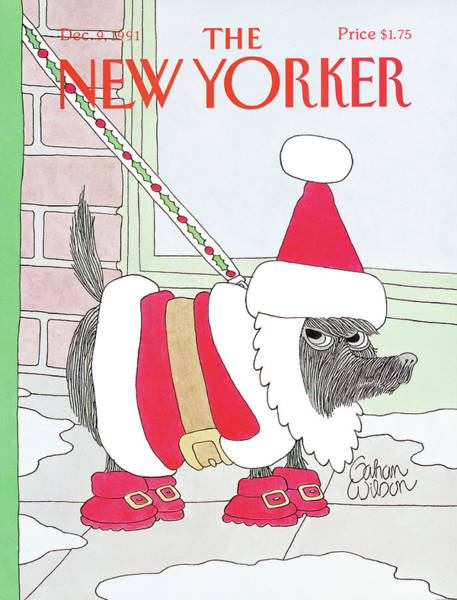 Wall Art - Painting - New Yorker December 9th, 1991 by Gahan Wilson