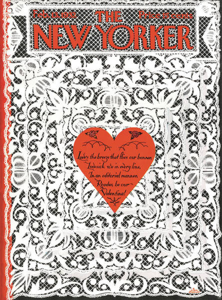 Love Painting - New Yorker February 13th, 1932 by S Liam Dunne