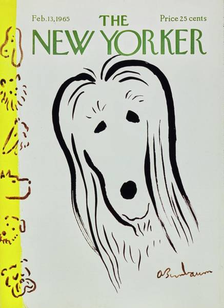 Wall Art - Painting - New Yorker February 13th 1965 by Aaron Birnbaum