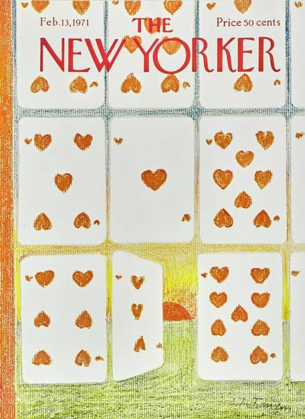 Valentines Painting - New Yorker February 13th 1971 by Andre Francois