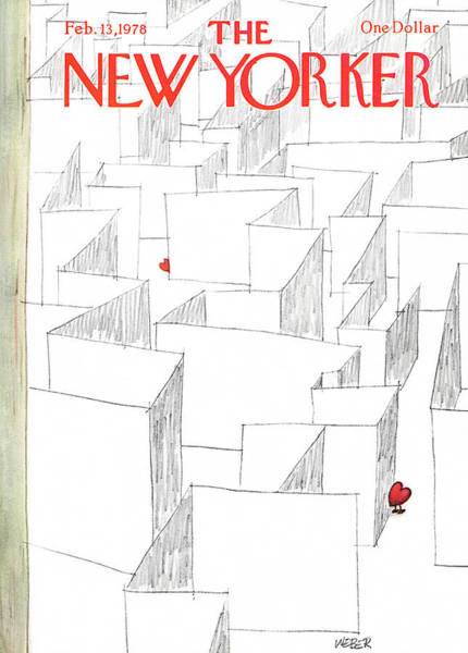 Wall Art - Painting - New Yorker February 13th, 1978 by Robert Weber