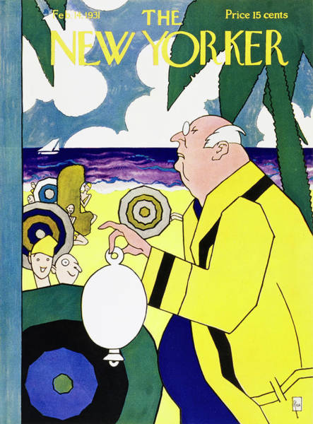 Magazine Cover Painting - New Yorker February 14 1931 by Gardner Rea