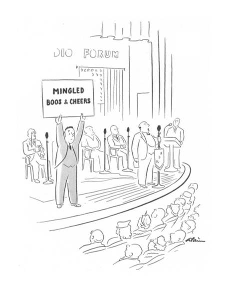 Reporter Drawing - New Yorker February 14th, 1942 by  Alain