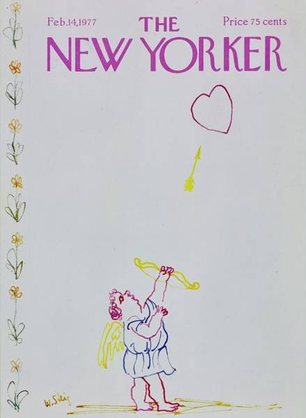 Wall Art - Painting - New Yorker February 14th 1977 by William Steig