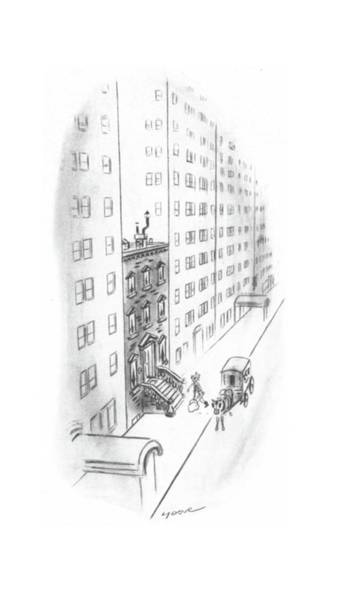 Sandwiches Drawing - New Yorker February 17th, 1940 by Leonard Dove