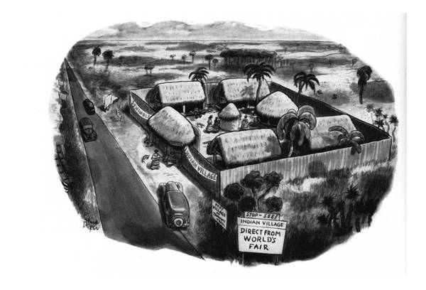 Tribe Drawing - New Yorker February 22nd, 1941 by Richard Decker