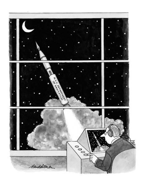 February 22nd Drawing - New Yorker February 22nd, 1999 by J.B. Handelsman