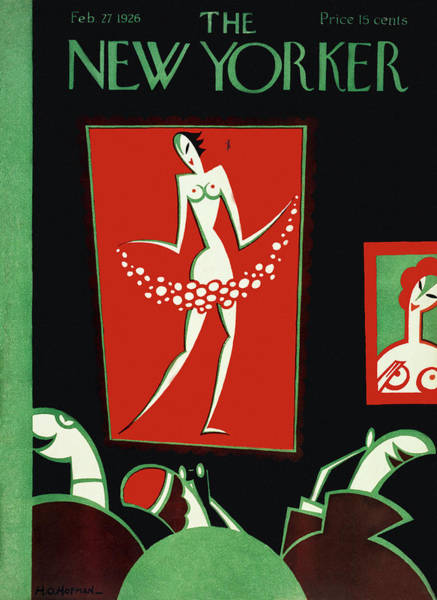 Adult Painting - New Yorker February 27 1926 by H. O. Hofman