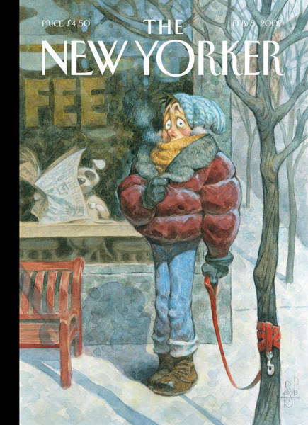 Peter De Seve Painting - New Yorker February 5th, 2007 by Peter de Seve