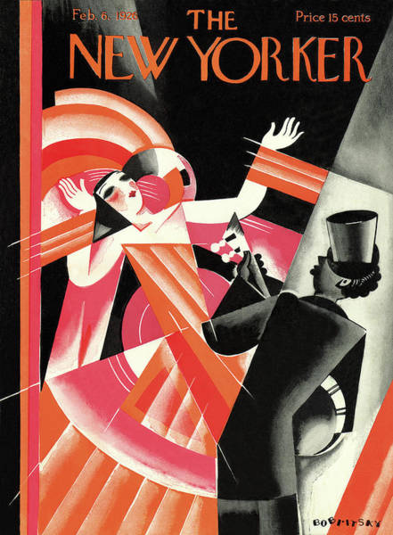 Performer Painting - New Yorker February 6th, 1926 by Victor Bobritsky