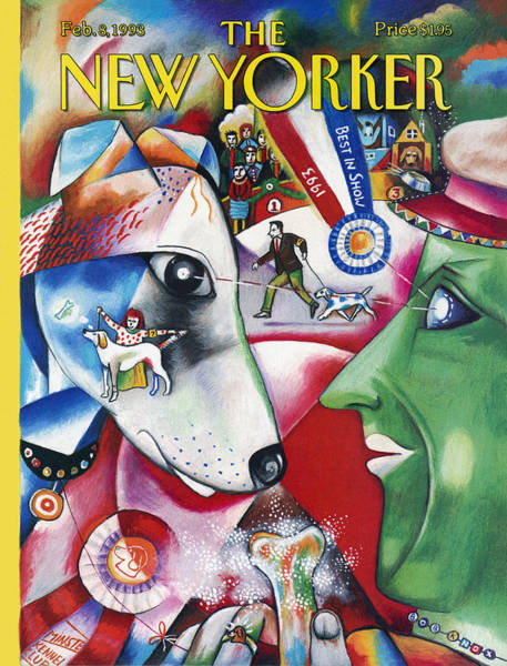 Westminster Painting - New Yorker February 8th, 1993 by Bob Knox