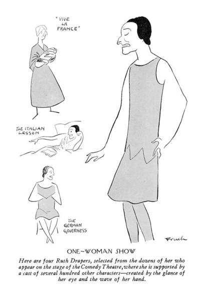 Wall Art - Drawing - New Yorker February 9th, 1929 by Alfred Frueh