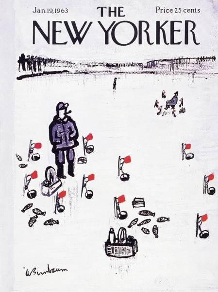 New Yorker January 19th 1963 Art Print