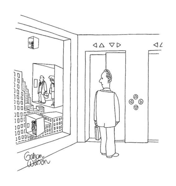 Out Of Business Wall Art - Drawing - New Yorker January 22nd, 1990 by Gahan Wilson