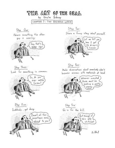 Show Business Wall Art - Drawing - New Yorker January 22nd, 1990 by Roz Chast