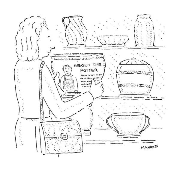 Wall Art - Drawing - New Yorker January 25th, 1988 by Robert Mankoff