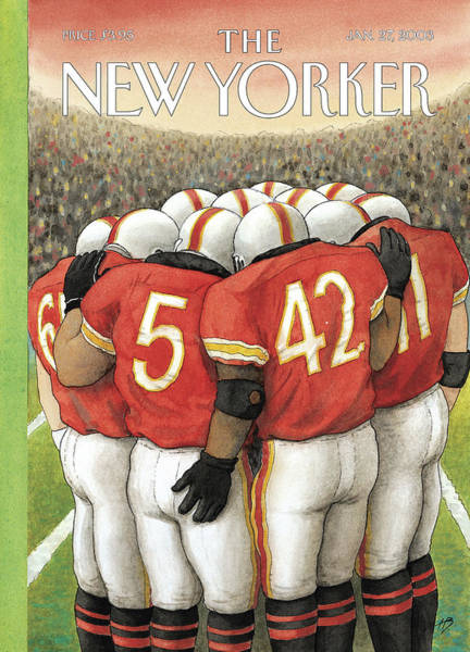 New Yorker January 27th, 2003 Art Print