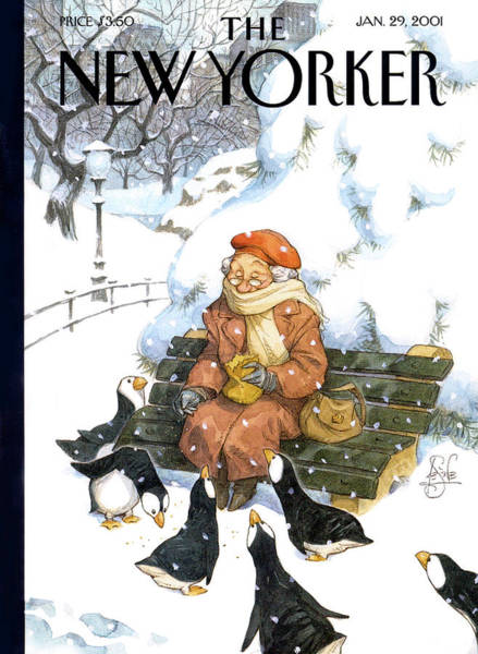 New Yorker January 29th, 2001 Art Print