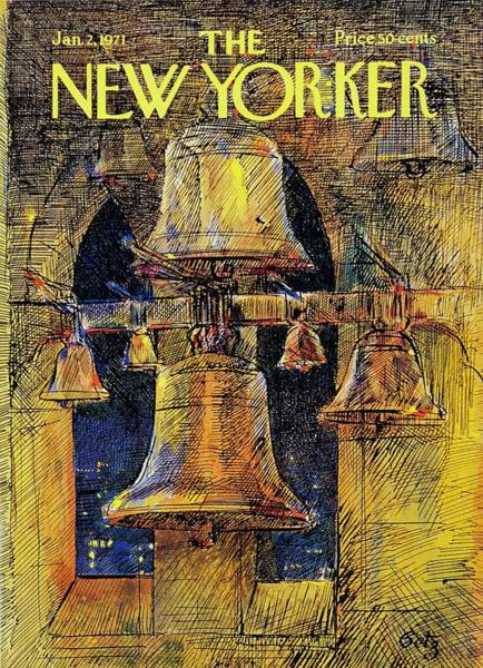 Wall Art - Painting - New Yorker January 2nd 1971 by Arthur Getz