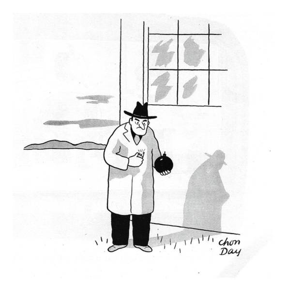 Explosion Drawing - New Yorker January 4th, 1941 by Chon Day