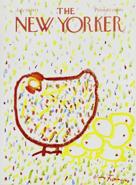 Wall Art - Painting - New Yorker July 10th 1971 by Andre Francois