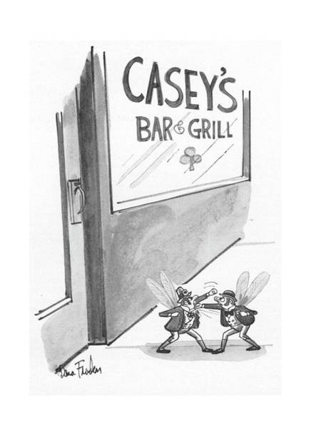 Alcoholism Drawing - New Yorker July 12th, 1976 by Dana Fradon