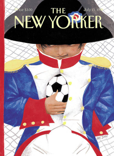New Yorker July 13th, 1998 Art Print