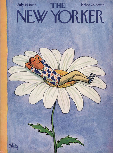 Men Painting - New Yorker July 14th, 1962 by William Steig