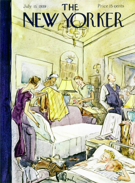 New Yorker July 15 1939 Art Print