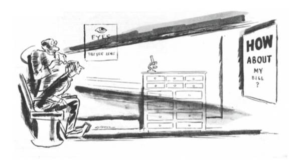 Dove Drawing - New Yorker July 15th, 1933 by Leonard Dove