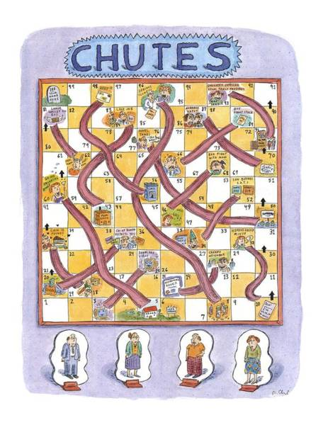 Wall Art - Drawing - New Yorker July 19th, 1999 by Roz Chast