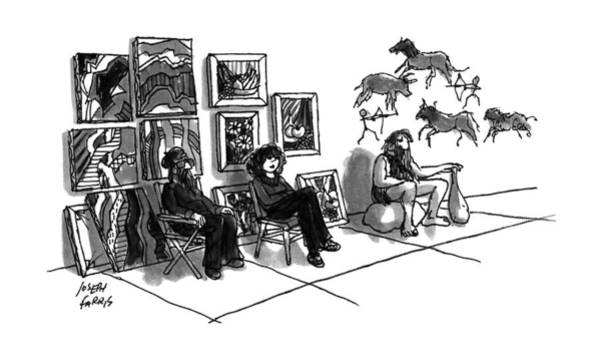 July 1st Drawing - New Yorker July 1st, 1991 by Joseph Farris