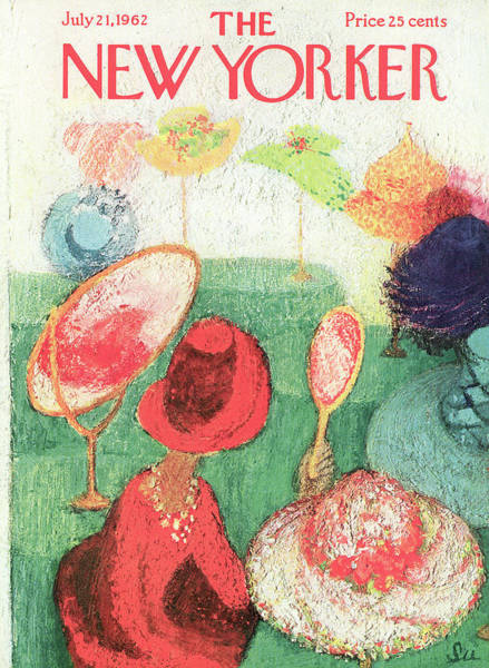 Women Painting - New Yorker July 21st, 1962 by Su Zeigler
