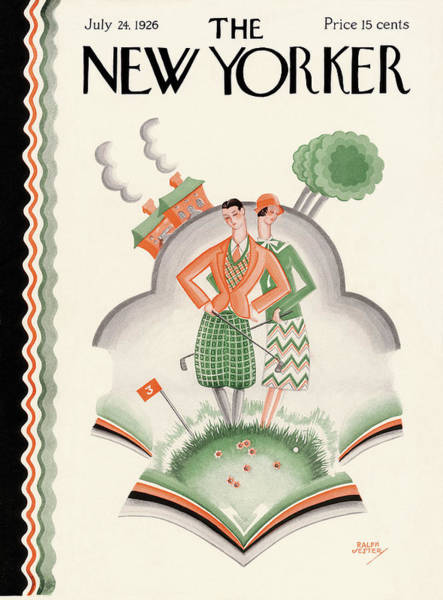 Golf Painting - New Yorker July 24th, 1926 by Ralph Jester