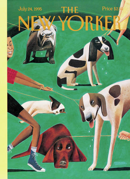 Pet Painting - New Yorker July 24th, 1995 by Mark Ulriksen