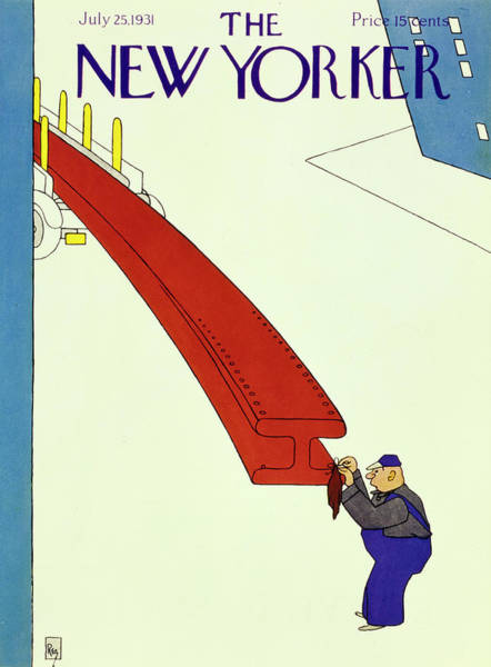 Humor Painting - New Yorker July 25 1931 by Gardner Rea