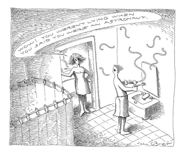 Affair Drawing - New Yorker July 26th, 1999 by John O'Brien