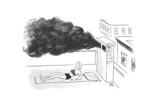 Recycle Drawing - New Yorker July 27th, 1940 by Carl Rose