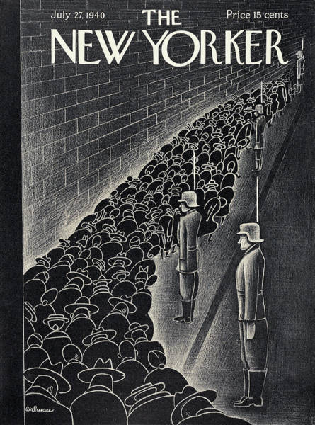 Painting - New Yorker July 27th, 1940 by Christina Malman