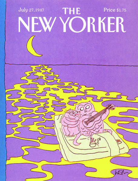 Obstacle Painting - New Yorker July 27th, 1987 by Arnie Levin