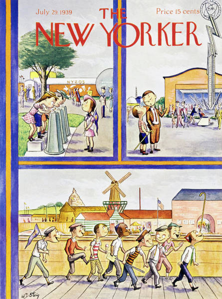 Artwork Painting - New Yorker July 29 1939 by William Steig