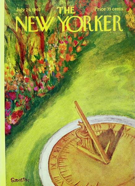 New Yorker July 29th 1967 Art Print
