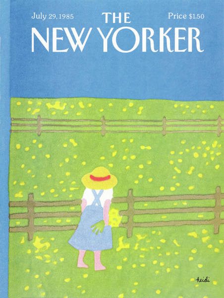 July 29th Painting - New Yorker July 29th, 1985 by Heidi Goennel