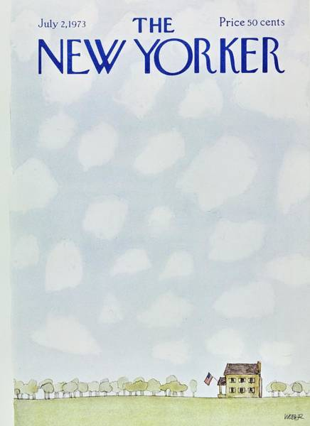 2 Painting - New Yorker July 2nd 1973 by Robert Weber