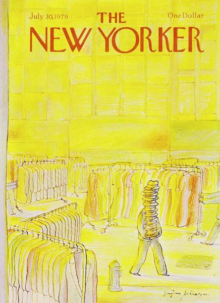 Headgear Painting - New Yorker July 30th 1979 by Eugene Mihaesco