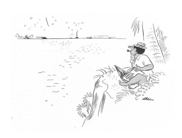 Tribe Drawing - New Yorker July 31st, 1943 by  Alain