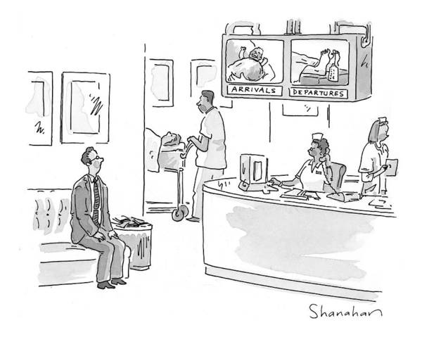 July 5th Drawing - New Yorker July 5th, 1999 by Danny Shanahan