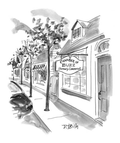 July 5th Drawing - New Yorker July 5th, 1999 by Donald Reilly