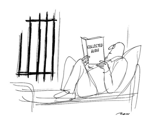 Wall Art - Drawing - New Yorker July 6th, 1987 by Al Ross